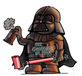 Graffeur Dark Vador dessin star wars
